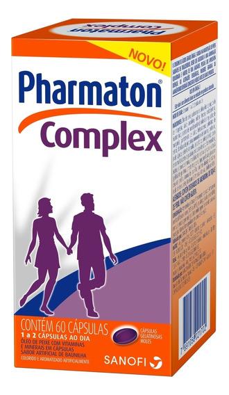 Pharmaton Complex Capsulas Gel C/ 60 Sanofi