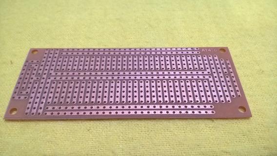 Placa Experimental 4 X 10cm Prototipos Electronica