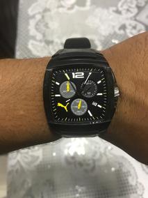 Relógio Puma G.t Black Masculino