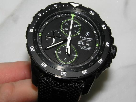 Reloj Victorinox Alpnach Mod 241573 Como Nuevo Con Papeles