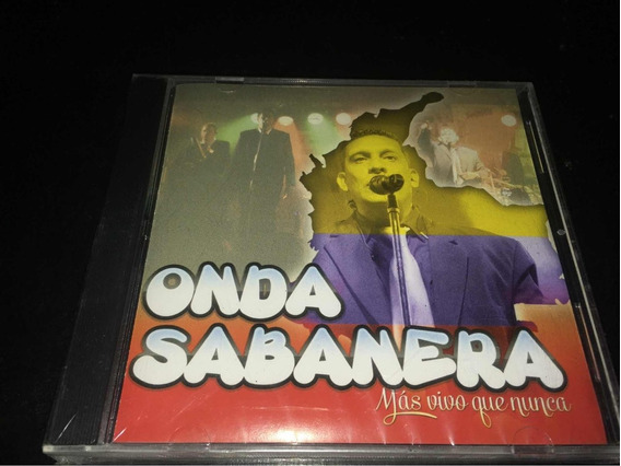 Onda Sabanera Mas Vivo Que Nunca Cd Nuevo Original Cerrado