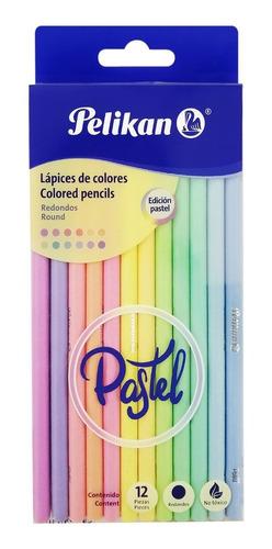 Lápices De Color Pastel Pelikan