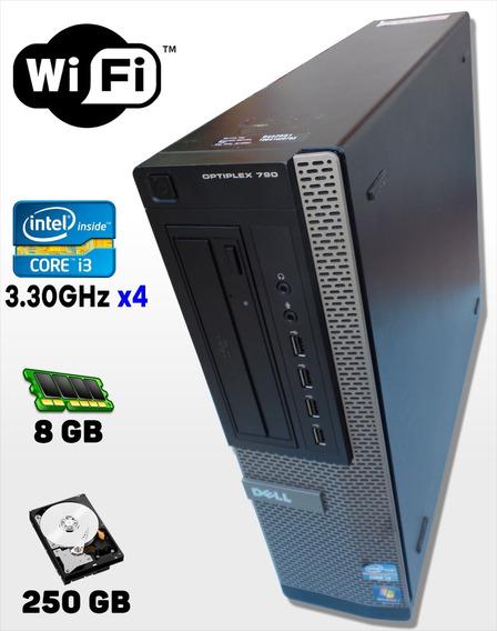 Cpu Dell Optiplex 790, Core I3-2120 3.30ghz, 8gb, 250gb