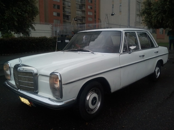 Mercedes Benz 1971, 220 S, Placa Par, W115