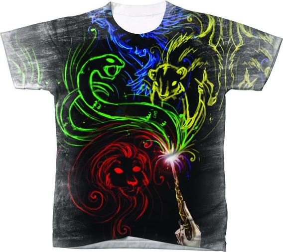 Camiseta Camisa Blusa Manga Curta Filme Harry Potter 17