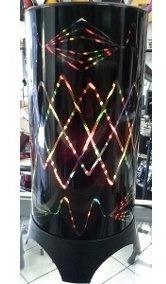 Iluminação Colorida Abajur Giratório De Mesa Festa Dj Efeito