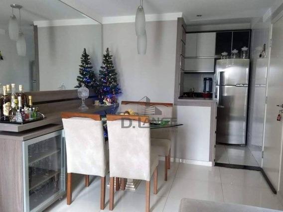 Apartamento Com 3 Dormitórios À Venda, 56 M² Por R$ 268.000,00 - Parque Prado - Campinas/sp - Ap17579