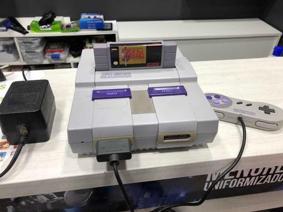 Super Nintendo Com Zelda
