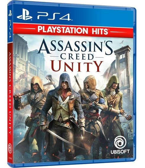 Jogo Assassins Creed - Unity (novo) Ps4