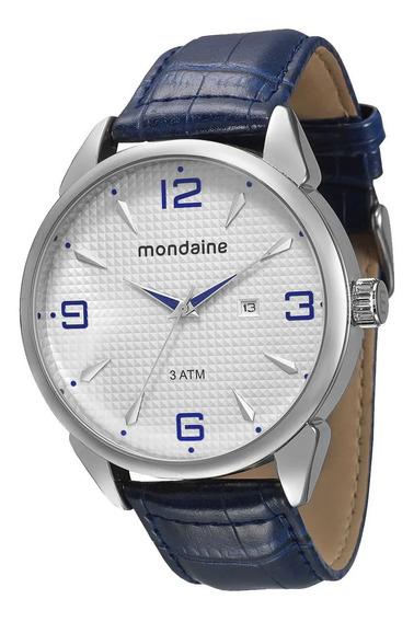 Relógio Masculino Mondaine De Luxo Azul 76410g0mvnh1 Vltrine