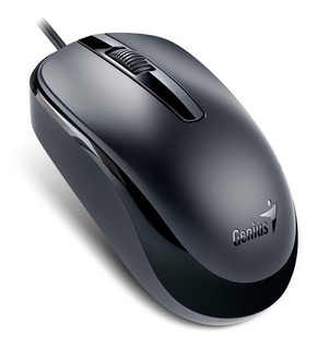 Mouse Genius Usb Dx-120 Xcroll Alta Calidad Negro Usb Genius
