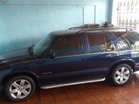 Blazer Dlx 2.4 1997 Azul-marinho Gasolina