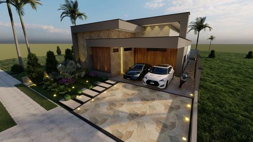 Casa Terrea Alpha 3 Sorocaba - 3 Suites 2 Hidro E Piscina