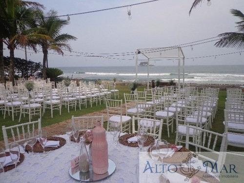 Imagem 1 de 17 de Casa Pé Na Areia Em Guarujá Para Festas - Ca00015 - 3164606