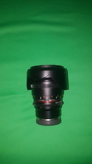 Lente E Mount 16mm F2.2 Apsc Rokinon Para Sony