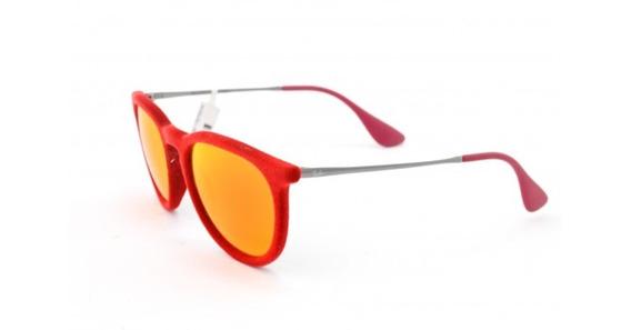 Óculos De Sol Ray Ban Erika Velvet Rb4171l 60756g Acetato