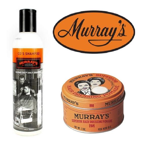 Murrays Combo Cera Para Cabello Original + Shampoo
