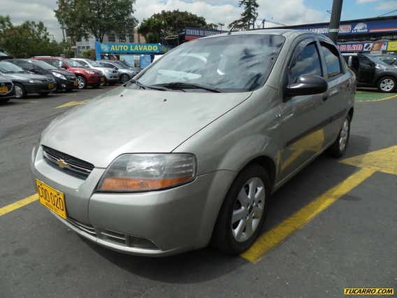 Chevrolet Aveo Mt 1600 Aa