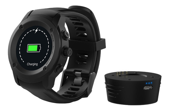 Smartwatch Mobo Active Gps Ip54 Mic Notifica Ritmo Cardiaco