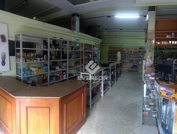 Salão Comercial Para Locação, Vila Alemã, Rio Claro. - Sl0047
