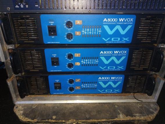 Amplificador Machine W-vox A8000 2000wrms Leia Anúncio