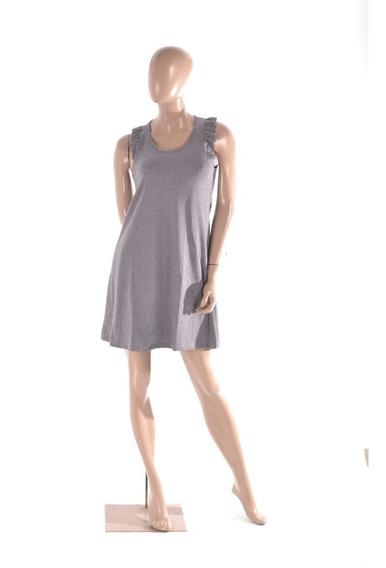 Vestido Musculosa Corto (art 051) - Con Volado En La Sisa 1 Al 4 - Jersey De Algodon -. Somos Fabricantes.
