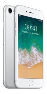 iPhone 7 Prata Com Tela De 4,7, 4g, 32 Gb E Câmera De 12 Mp