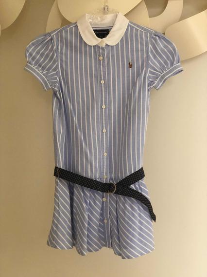 Vestido Infantil Ralph Lauren Original