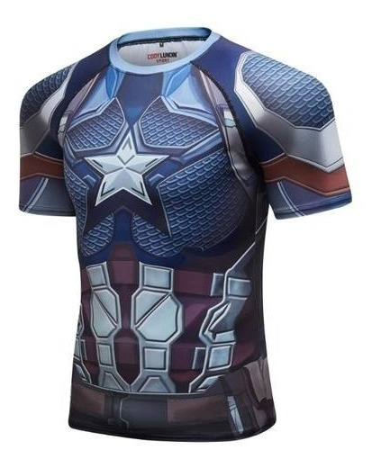 Playera Capitan America Avengers Endgame Marvel