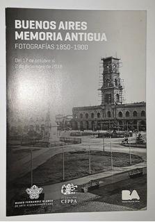 Buenos Aires Memoria Antigua (folleto Exposición)