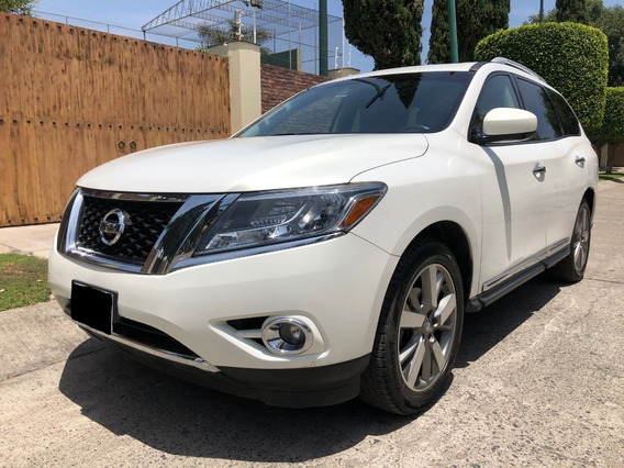 Nissan Pathfinder Exclusive 3.5 Cvt Awd Q/c Panoramico Dvd