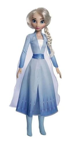 Imagen 1 de 1 de Princesas Disney Muñecas Gigantes 55cm Ariel Bella Rapunzel