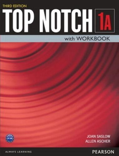 Top Notch 1a - Student Book With Workbook - Third Edition
