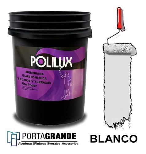 Imagen 1 de 1 de Membrana En Pasta Polilux Alto Poder X 10 Kg