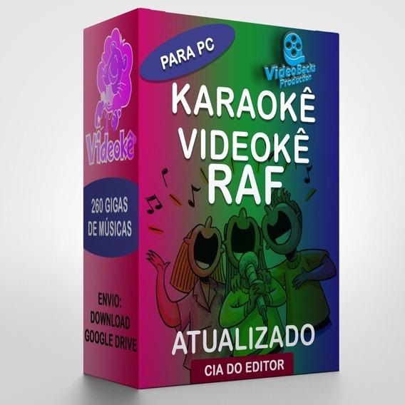 Karaokê Videokê Para Pc + Pontuação + 8940 Músicas Da Raf