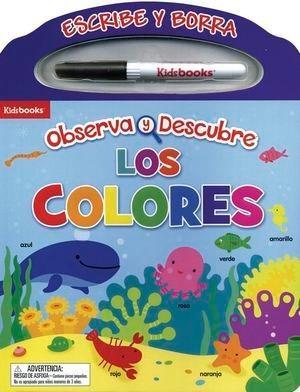 Imagen 1 de 1 de Colores Escribe Y Borra. Observa Y Descubre / Pd. (incluye P