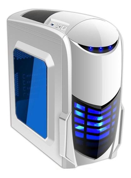 Pc Gamer Ryzen R5 2400g 8gb Ddr4 Roda Fortnite Apex Branco