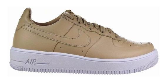 Nike Zapatillas Cuero Nforce Hombres Aire Fuerza 1 Ultraforc