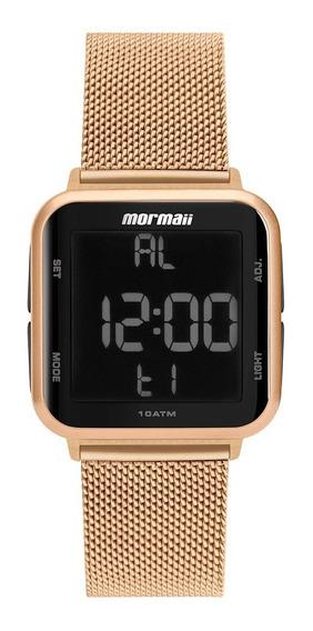 Relógio Mormaii Feminino Digital Mo6600af/8j Rose Preto