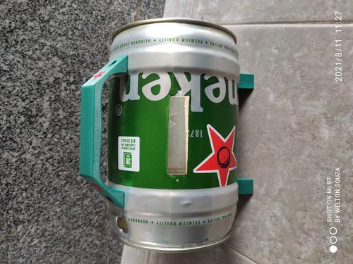 Imagem 1 de 3 de Vendo Barill De Heineken Já Cortado Pronto Pra Montagem