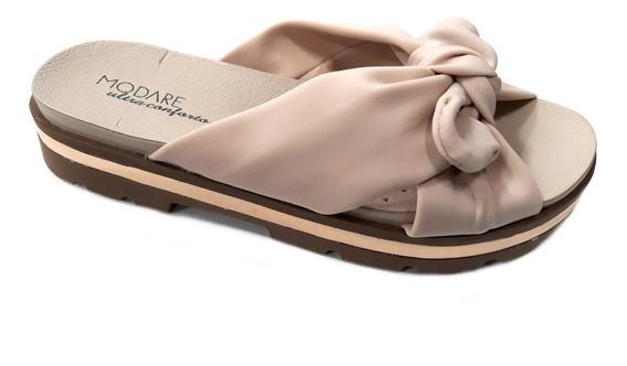 Sandalia Mujer Modare Plataforma Faja Cruzada Moño