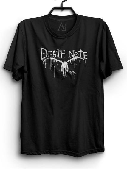 Camiseta Death Note Camisa Anime