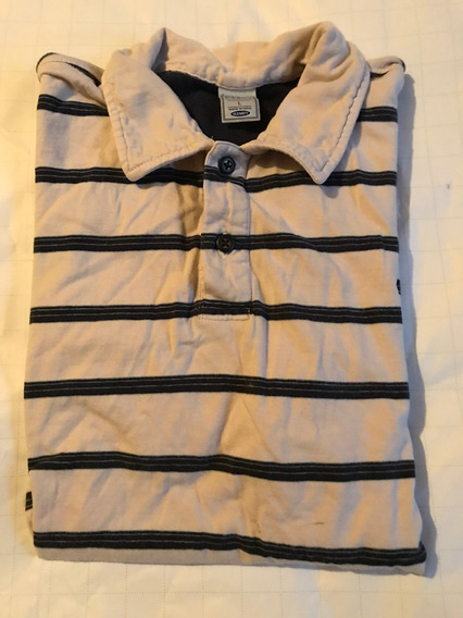 Old Navy Playera Tipo Polo Caballero Rayas Manga Corta Golf