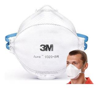 Mascara 9320 Pff2 Coronavirus Indicação Da 3m - 5 Uni
