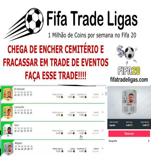 Trade Fifa 20 - 536 Jogadores - 1kk Por Semana
