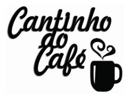 Imagem 1 de 3 de Quadro Decorativo Cantinho Do Café - Promoção