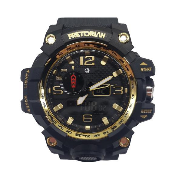 Relógio Pretorian Combat Gonden Black ( Wprt-08-2)