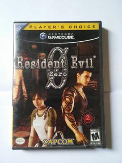 Video Juego De Gamecube Resident Evil Zero (2002)