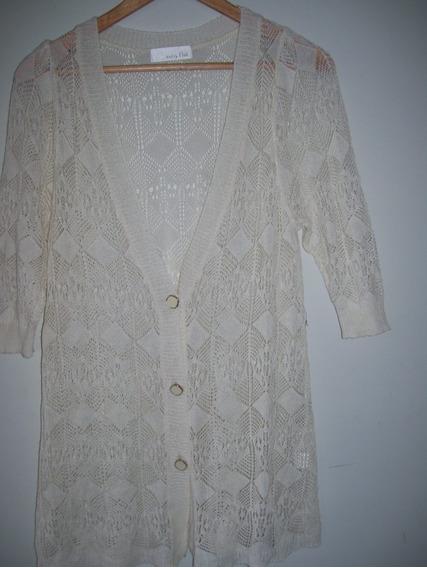 Saco De Hilo Importado Marca Knit By Flat