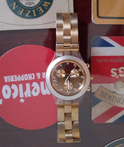 Swatch Sere Ouro